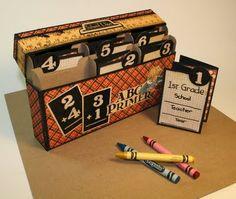 Tutorial - Crayon Box mini
