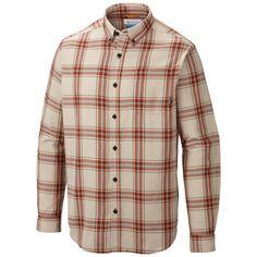 Medium, Rusty Plaid or Mountain Plaid - Columbia Sportswear Rapid Rivers II Shirt - Long Sleeve (For Men))