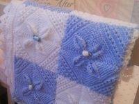 Mantas Tejidas En Dos Agujas Crochet Horquilla Telares Y Download