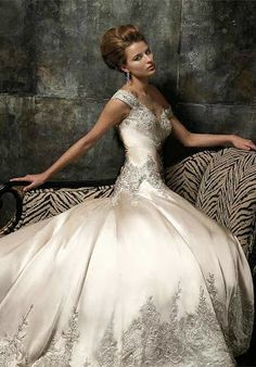 Bridal Style | Wedding Ideas: Outstanding Wedding Gown