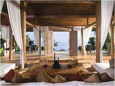 villa interior design in bali Villa Design, House Design, Villa Interior, Interior Exterior, Balinese Interior, Balinese Villa, Balinese Decor, Interior Trim, Room Interior