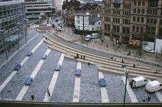 Martha Schwartz Partners - Manchester Exchange Square, Manchester, Reino Unido