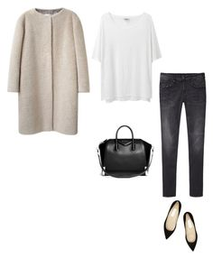 """Untitled #544"" by feryfery ❤ liked on Polyvore featuring Acne Studios, R13, Jimmy Choo and Givenchy"
