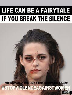 Sur l'image: un portrait altéré de Kristen Stewart.