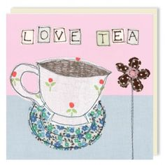 Love Tea by Poppy Treffry