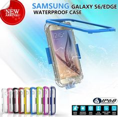Waterproof Shockproof Dust Sand Proof Cover Case For Samsung Galaxy S6 / S6 Edge #ARMYBEE