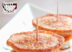 Burgery z razowych blinów z łososiem i twarożkiem. Obłędnie pyszne [PRZEPIS] Weights, Diet