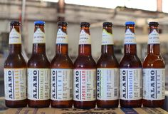 Seven styles of Alamo Beer now available across the great state Texas.
