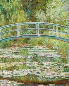 @Regrann from @metmuseum -  Born on this day in 1840 Claude Monet was a key figure in the Impressionist movement that transformed French painting in the second half of the nineteenth century. Claude Monet (French 18401926). Bridge over a Pond of Water Lilies (detail) 1899 #TheMet #ClaudeMonet #Monet #Impressionism - #regrann