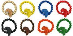 Wood Junkie Pearl Bracelet 9mm Africa - Urban Classics-Shop.nl