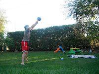 Iron Rogue: Impromptu Backyard Workout