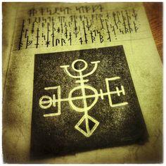 Magic Symbols, Norse Symbols, Different Symbols, Viking Art, Asatru, Norse Mythology, Symbolic Tattoos, Occult, Making Ideas
