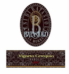 Batasiolo Barolo Cerequio 2007 Personalized Items, Logos, Cards, A Logo, Playing Cards, Maps, Legos