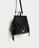 Discover the new ZARA collection online. Cute Backpacks, Girl Backpacks, Backpack Bags, Leather Backpack, My Bags, Purses And Bags, Fashion Bags, Fashion Backpack, My Style Bags