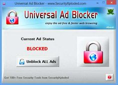 New Universal Ad Blocker - All-in-one Tool to Block Ads across all Web Browsers !!!  http://securityxploded.com/universal-ad-blocker-tool.php