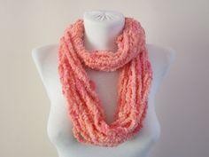 infinity Scarf Soft Scarves Crazy Necklace Fiber by scarfnurlu