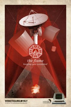 LOST Dharma Stations . The Flame