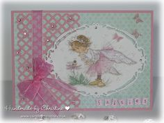 LOTV - Fairies Art Pad. Card by Christine Levison