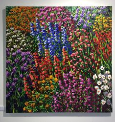 Floral Wall Art, Canvases, New Zealand, Sunday, Store, Gallery, Flowers, Painting, Beautiful