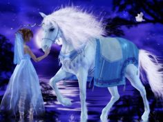 """Unicorns don't care if you believe in them any more than you care if they believe in you."""""""