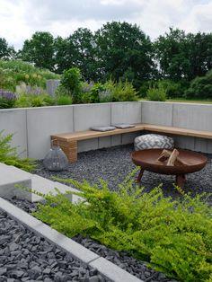 GARTEN | die neue Feuerstelle und Lichtkonzept im Garten