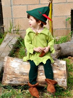 Peter Pan/ Robin Hood halloween costume. | zorraindina - Seasonal on ArtFire