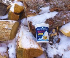 """""""Chop your own wood and it will warm you twice."""" Follow that up with some Mountain High Yoghurt to recover of course ;)"""