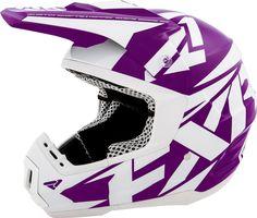 FXR Racing - 2015 Snowmobile Apparel - Torque Helmet - Purple