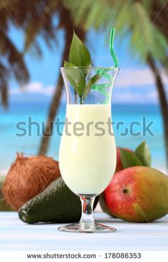 exotic fruit cocktail