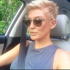 Image result for spiky hairstyle for round face woman
