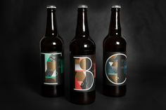 Beer bottles as unique as the way they were aged. Vault Brewing recently  released their latest series of brews, the second installment in what is  called their Artist Series of a Belgian Golden Ale.