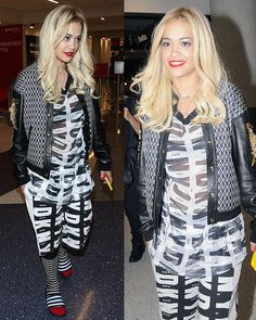 Rita Ora arriving at the Los Angeles International Airport on March 10, 2014