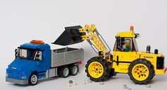 Scania 113H and Volvo front end loader | by Thomas Selander