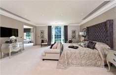 6 bedroom detached house for sale in The Drive, Cheam, Surrey, - Rightmove. Living Room Decor, Bedroom Decor, Room Interior, Interior Design, Small Bathroom With Shower, Luxury Homes Dream Houses, Indian Home Decor, Awesome Bedrooms, Next At Home