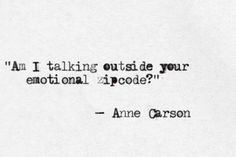 Anne Carson zitate