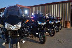 Honda Police Motorcycle for Fort Worth http://www.defendersupply.com/