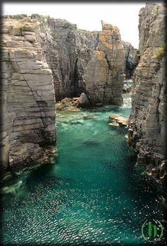 Le piscine naturali della Conca Carloforte