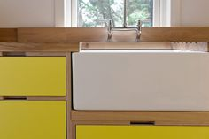 Kitchen cabinet idea - birch ply                                                                                                                                                      More