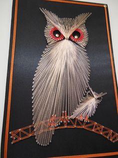 Quadro Coruja String Art 45x30cm                                                                                                                                                                                 Mais