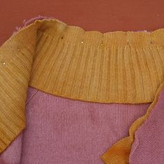 Remaking machine knit sweaters ~ this is a wonderfully clear site with very clear instruction.