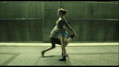 There will never be enough GIFs of this dance. | You Have To Watch This Couple Dancing On A Subway Platform