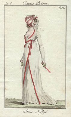late 1799 to 1800 - Costume Parisien