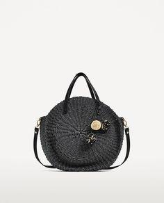 Zara Braided Straw Bag