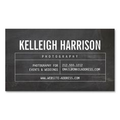 265 best business cards for networking personal use images on bold name with vintage grid on chalkboard business card friedricerecipe Choice Image