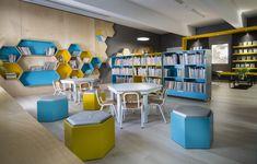 המלצת קריאה: המכבסה הישנה שהוסבה לספרייה מעוצבת | בניין ודיור