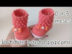 Crochet booties for baby are great accessories, they are crocheted of high-quality yarn. Crochet baby booties are not just adorable Crochet Lace Edging, Crochet Bebe, Love Crochet, Crochet For Kids, Crochet Yarn, Simple Crochet, Crochet Shawl, Crochet Boots, Crochet Baby Booties
