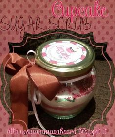scrub corpo 7 cupcake
