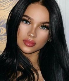 Online Shop Brazilian Straight Hair 4 Bundles With Closure Rabake Hair Brazilian Human Hair Bundles With Closure,Factory Cheap Price, DHL Worldwide Shipping,Store Coupons Available. Casual Hairstyles, Black Women Hairstyles, Straight Hairstyles, Beauty Makeup, Hair Makeup, Hair Beauty, Tumbrl Girls, Pinterest Makeup, Human Hair Wigs