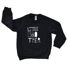 Little Brother Sketchy Hand Drawn Design  by VicariousClothing