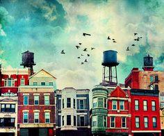 A Noble Avenue Art Print by timjarosz Leap Movie, Z Arts, Artsy Fartsy, Street Art, Graphic Design, Art Prints, Wall Art, Deco, Artist
